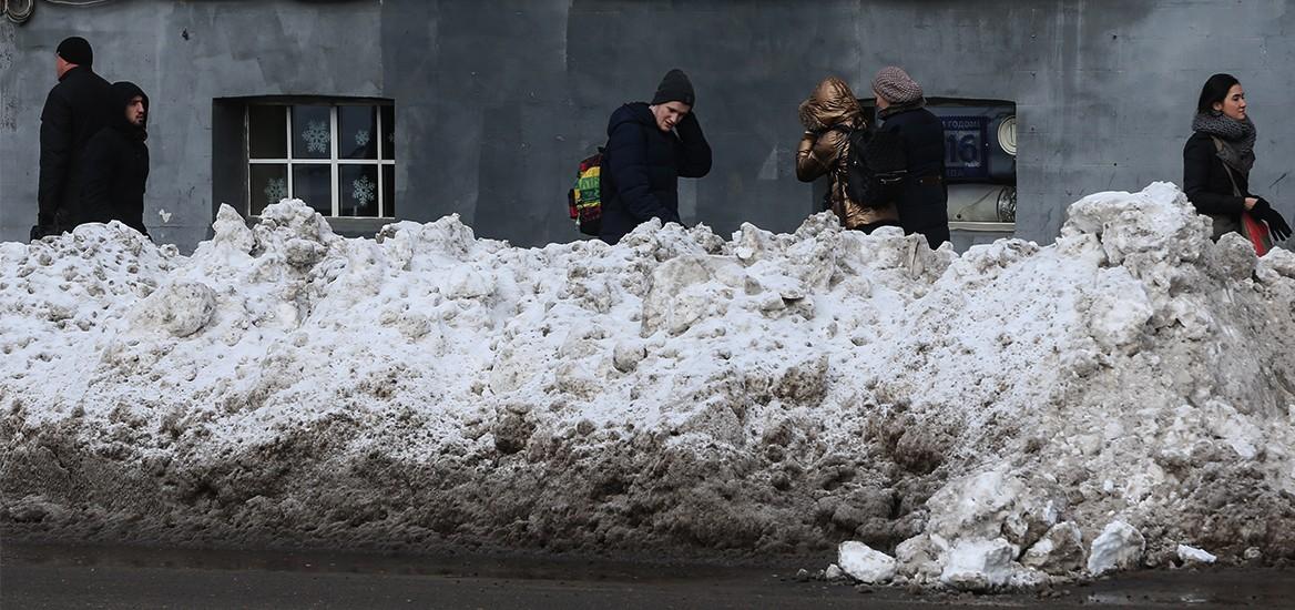 Наши коммунальщики совсем не думают о жителях града Московского