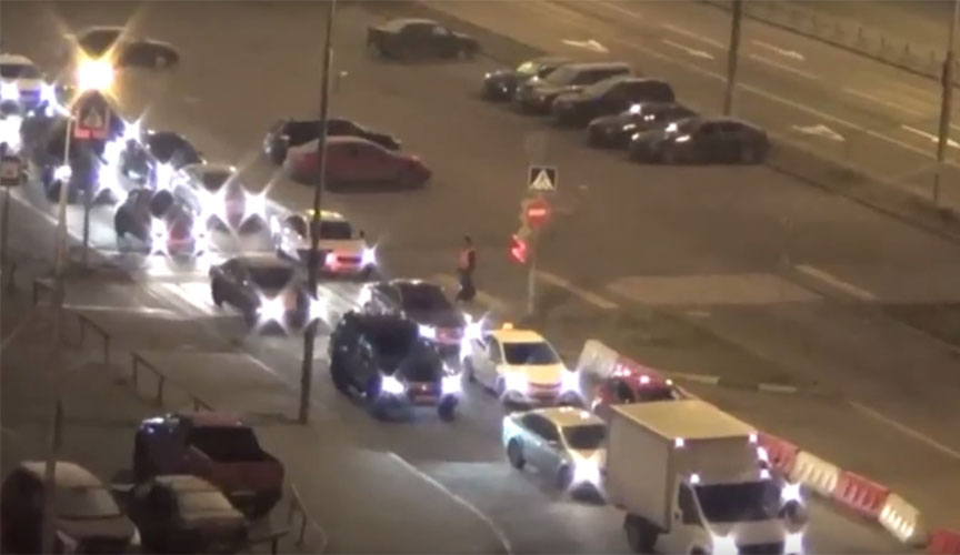 На МКАДе открылась развязка с Каширским шоссе