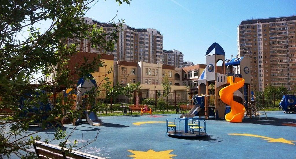 Фото детских площадок в Новой Москве град Московский