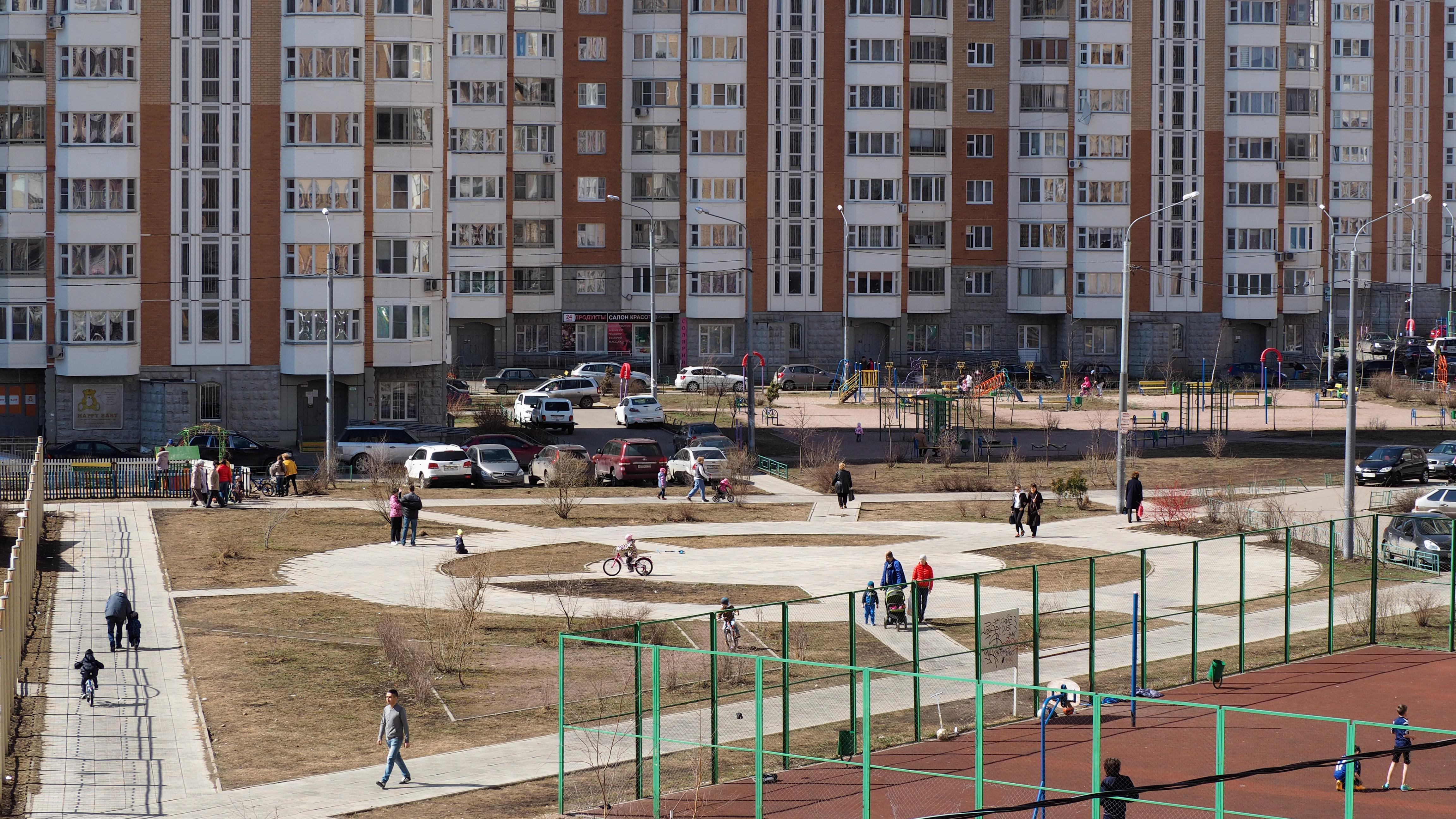 гуляния на Пасху град Московский